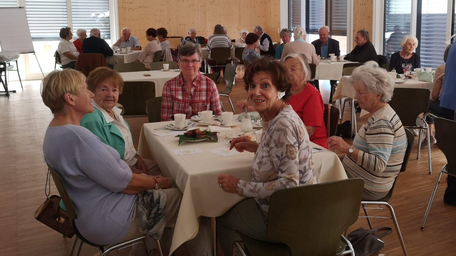 Die Seniorenrunde  im September war ein toller Erfolg